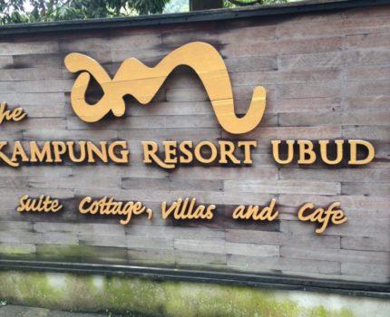 カンプン ・リゾート (The Kampung Resort Ubud)に泊まった感想 ・テガララン・ライステラス(Tegalalang Rice Terrace)にも歩いて行けるよ
