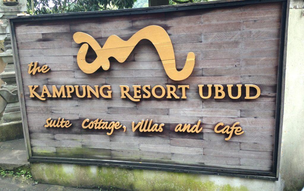 kampung resort ubud tegalalang