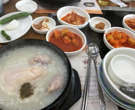 初めてのチェジュ島 初ご飯は参鶏湯の名店ビウォンへ ホテルは海岸近くのシエル ブルー チェジュへ2泊 (グルメ宿泊編)