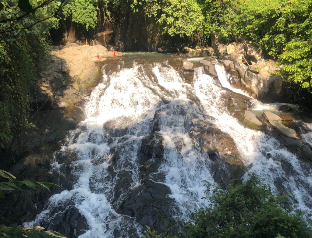 bali goa rang reng waterfall