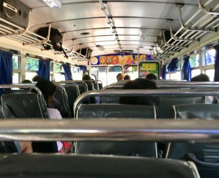 初めてのスリランカ旅行 🇱🇰 ネゴンボからシーギリヤまでバスで行ってみた