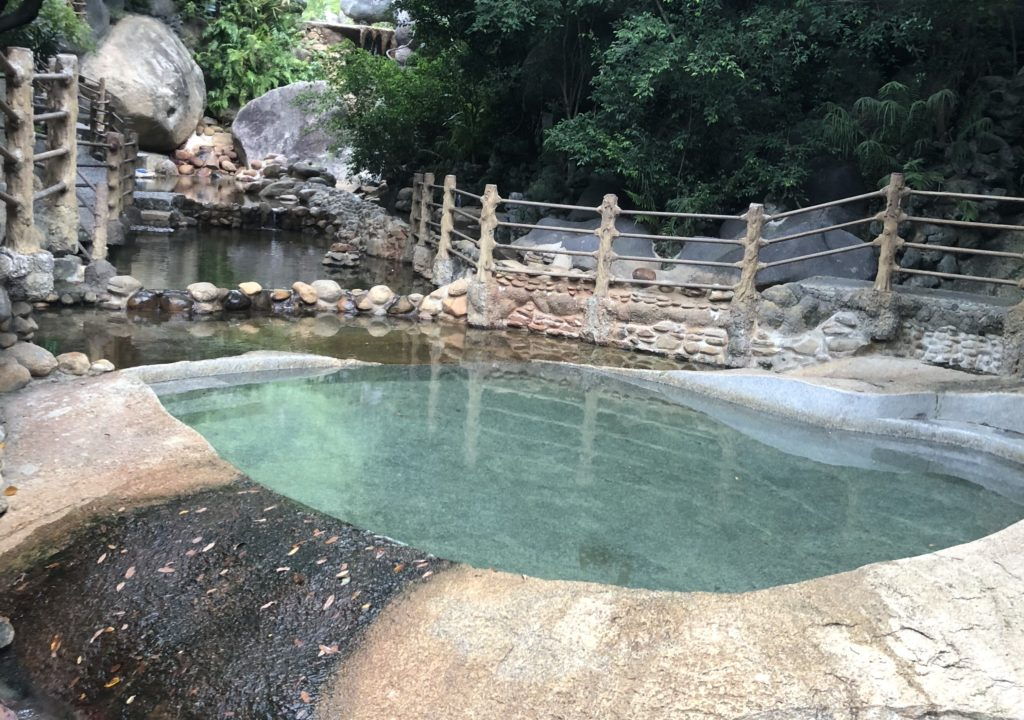 vietnam da nang hot springs park