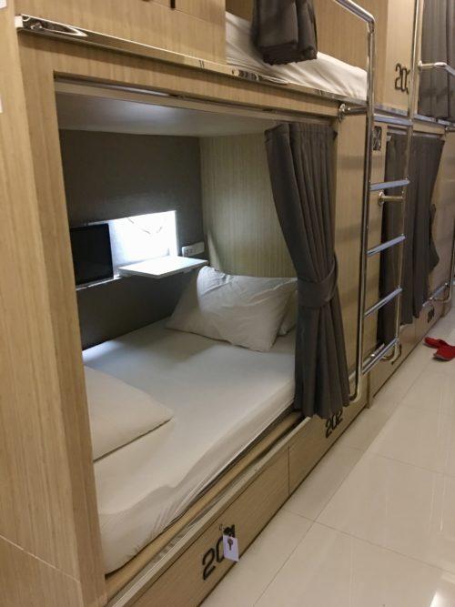 バンコクのドミトリーはコスパが高い  チェック イン マイ ホステル (Check-in My Hostel )・スリープ ラボ ホステル ( Sleep Lab Hostel )