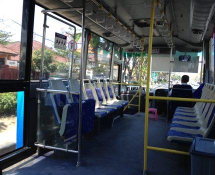 バリ島 ングラライ空港から公共のバス・トランスサルバギタ(Trans Sarbagita)で市内へ