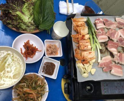 韓国食べまくりの旅 😋 やっと行けた南大門市場の美味しい三枚肉