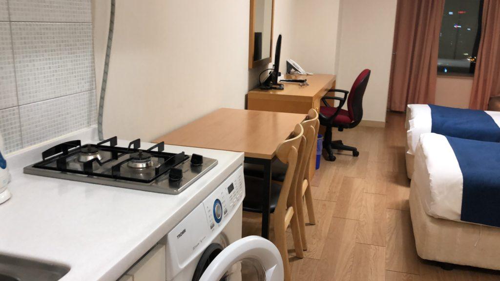 東大門のおすすめホテル✨ 現代レジデンス(Hyundai Residence) はお部屋が広めで快適しかもお安い❗️❗️